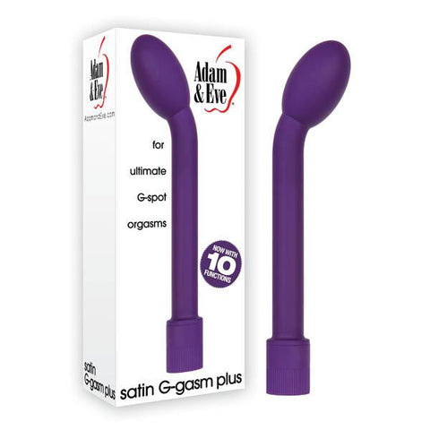 Adam & Eve Satin G-Gasm Plus Purple 17.8 cm (7'') Vibrator