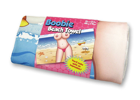 Boobie Beach Towel - Novelty Towel