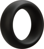 Optimale C Ring - Thick Silicone Penis Ring - 35mm Black
