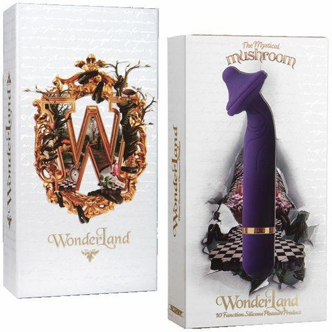 WonderLand 10 Function Silicone Massager - The Mystical Mushroom