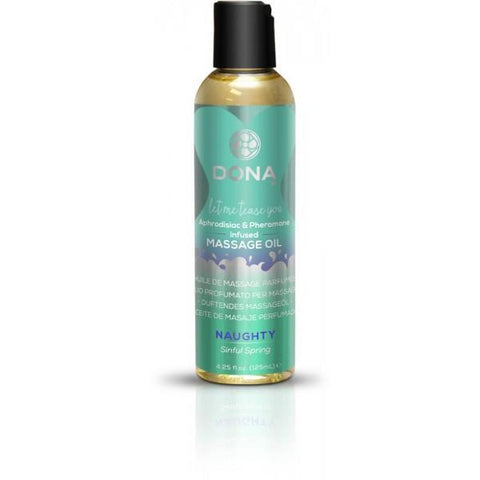 Dona Scented Massage Oil Naughty Aroma: Sinful Spring 4 oz