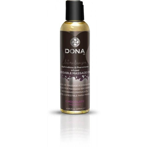 Dona Kissable Massage Oil Chocolate Mousse 4 oz