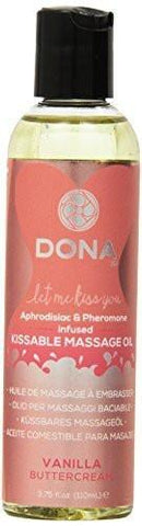Dona Kissable Massage Oil Vanilla Buttercream 4 oz