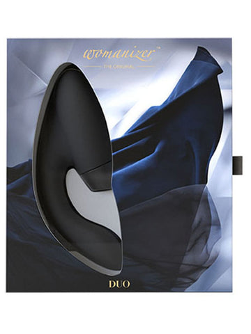 Womanizer DUO Black G Spot Rechargeable Vibrator With Pleasure Air Technology