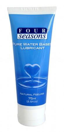 Four Seasons Pure Water Based Lubricant 75mL Tube