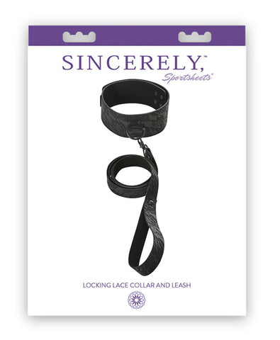 Sincerely Locking Lace Collar and Leash
