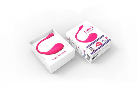 Lush 2 by Lovense (Latest Model) The most powerful Bluetooth remote control vibrator!