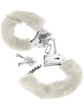 Fetish Fantasy Beginners Furry Cuffs - White