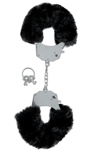 Fetish Fantasy Series Limited Edition Furry Cuffs - Black