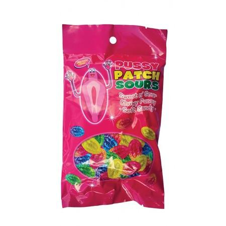 Pussy Patch Sours Edible Sweet & Sour Soft Candy