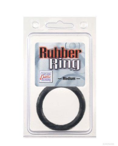California Exotics - Rubber Ring - Medium Black Cock Ring
