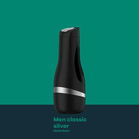Satisfyer Men Classic - Silver