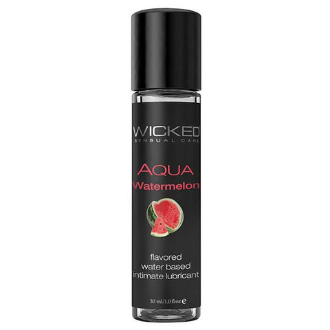 Wicked Aqua Watermelon Water Based Lubricant 30mL