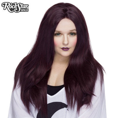 Rockstar Wigs Yaki 26 Inch Straight Black Rose