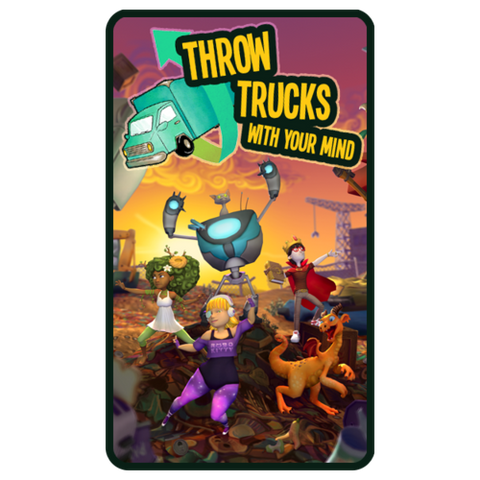 Throw Trucks With Your Mind! — a game for Neurosky & BrainLink headsets