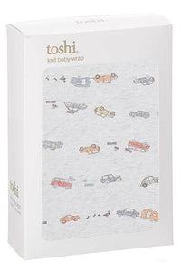 Toshi - Baby Knit Wrap - Duck Duck