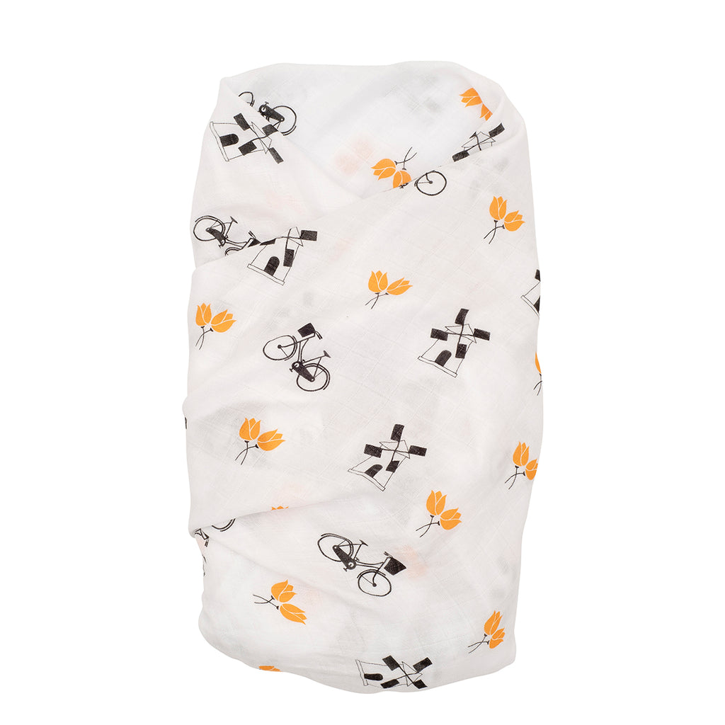 Proud Baby - Little Dutchie Netherlands Muslin Swaddle