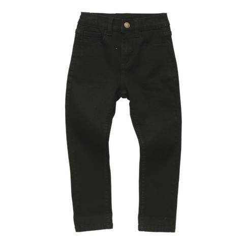 Rock Your Baby - Black Acid Wash Jeans