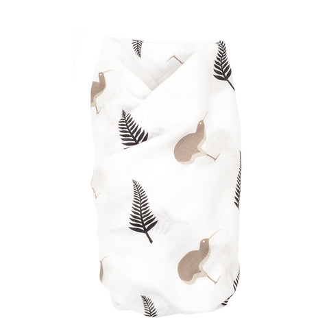 Proud Baby - Cute Kiwi New Zealand Muslin Swaddle