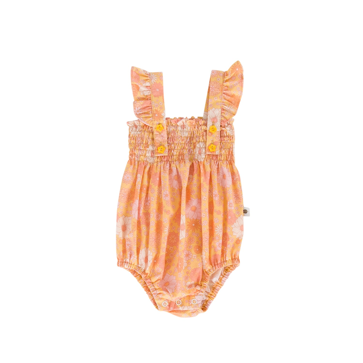 Peggy - Edie Playsuit Posy Print