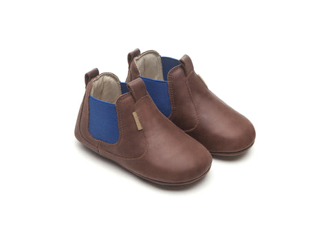 Tip Toey Joey - Kicky Boots (Old Tan / Royal)