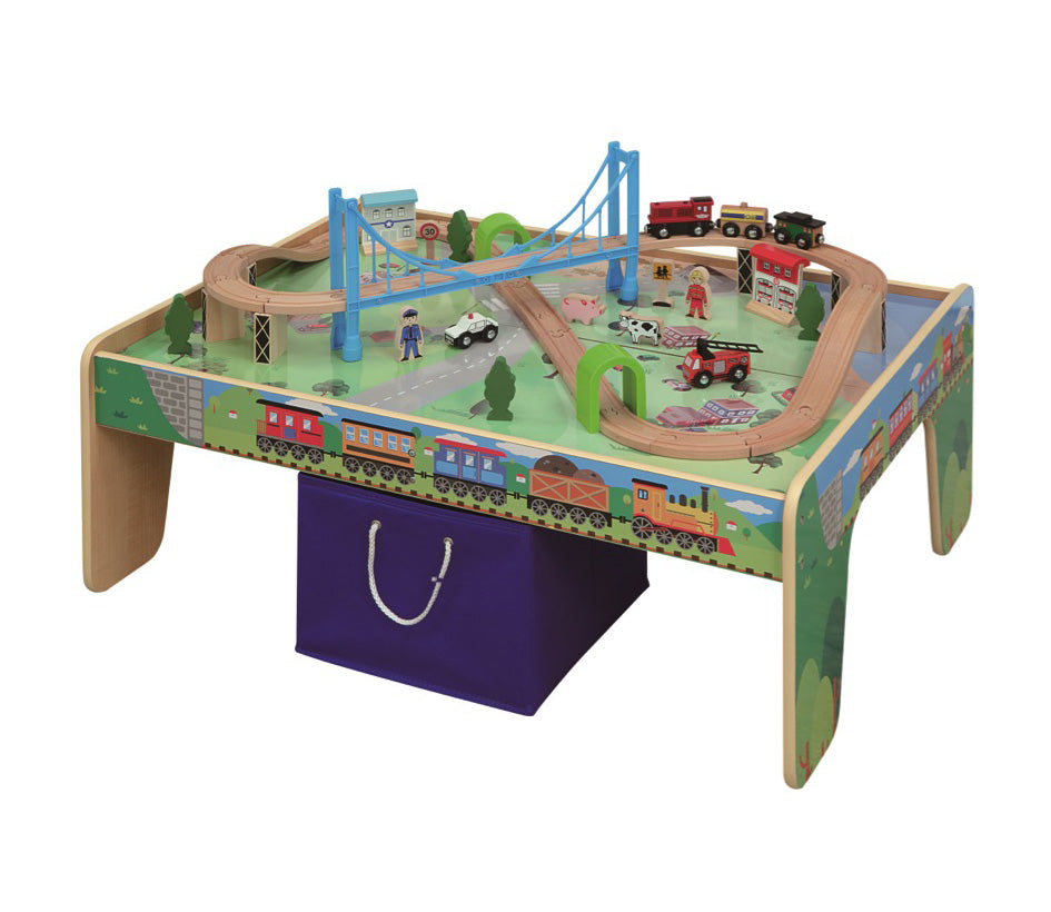 EverEarth - Train Table with 50pc Train Set