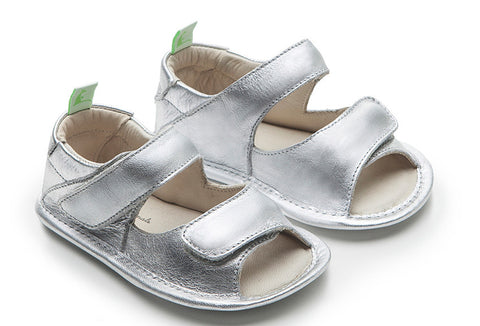 Tip Toey Joey - Toey Originals Sandals (Sterling Silver)