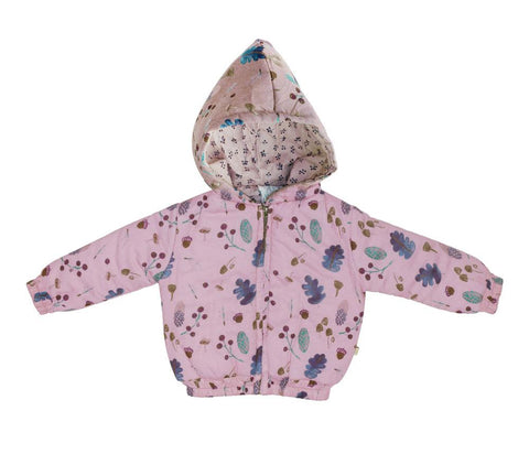 Alex & Ant - Padded Hooded Jacket (Pink)