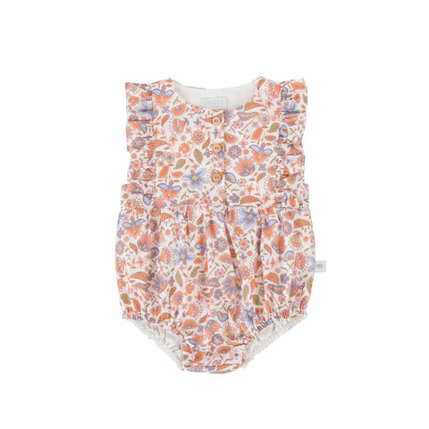 Peggy - August Playsuit Dragonfly Print