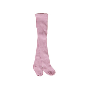 Peggy - Savana Baby Tights Dusty Pink