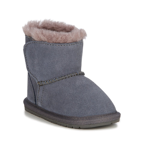 EMU Australia - Toddle Babies Deluxe Wool Boot (Charcoal)