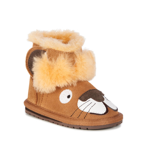 EMU Australia - Leo Lion Walker Babies Deluxe Wool Boot (Chesnut)