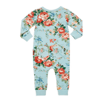 Load image into Gallery viewer, Rock Your Baby - French Floral LS Playsuit
