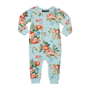 Rock Your Baby - French Floral LS Playsuit