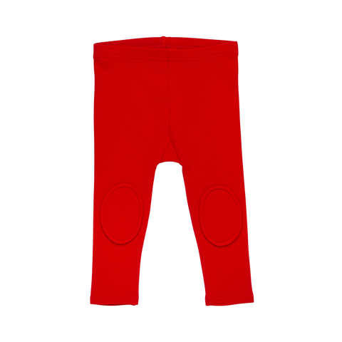 Rock Your Baby - Baby Knee Patch Tights (Red)