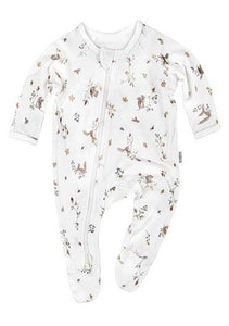 Toshi - Long Sleeve Onesie - Woodlands