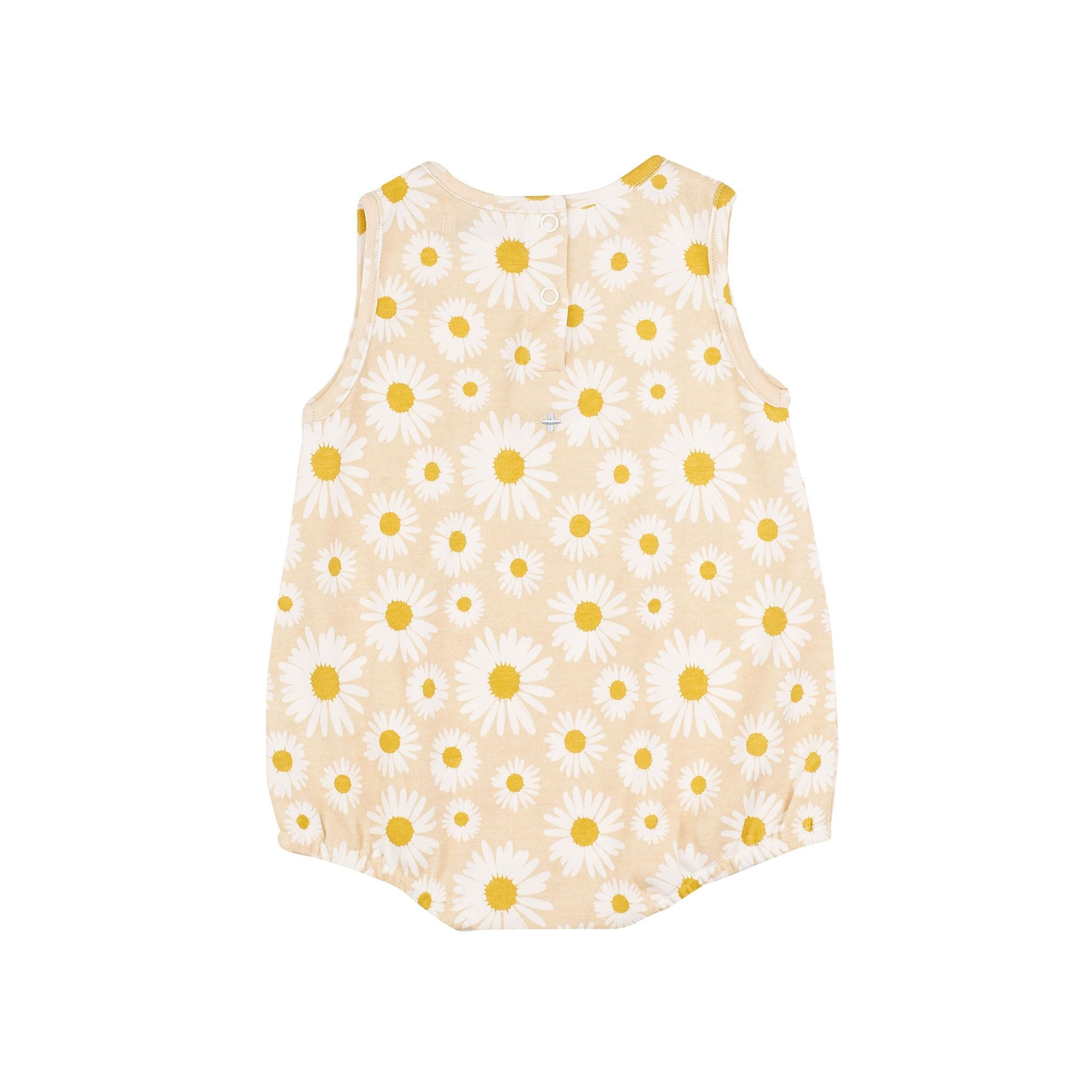 Goldie + Ace - Daisy Bubble Romper Buttercream
