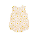 Load image into Gallery viewer, Goldie + Ace - Daisy Bubble Romper Buttercream