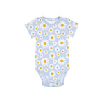 Load image into Gallery viewer, Goldie + Ace - Daisy Short Sleeve Bodysuit Sky