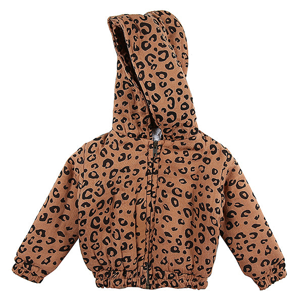 Alex & Ant - Evelyn Jacket (Rust Leopard)