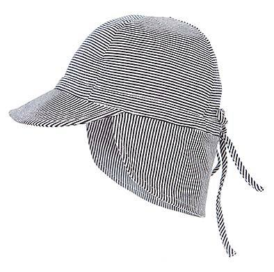 Toshi - Flap Cap Baby (Periwinkle)