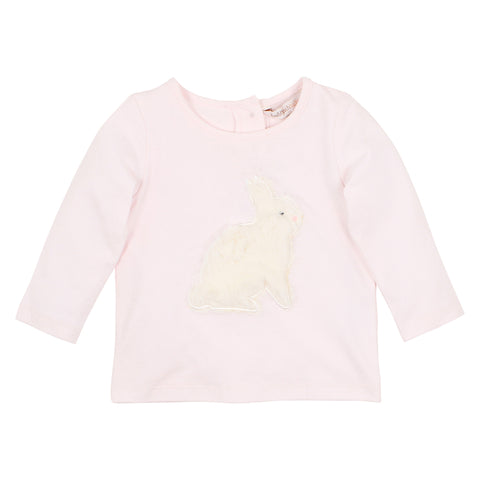 Fox&Finch - Hop Applique Bunny Tee