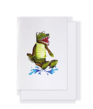Nanahuchy - Albert The Crocodile Gift Card