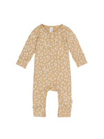 Load image into Gallery viewer, Huxbaby - Honey Bee Rib Romper