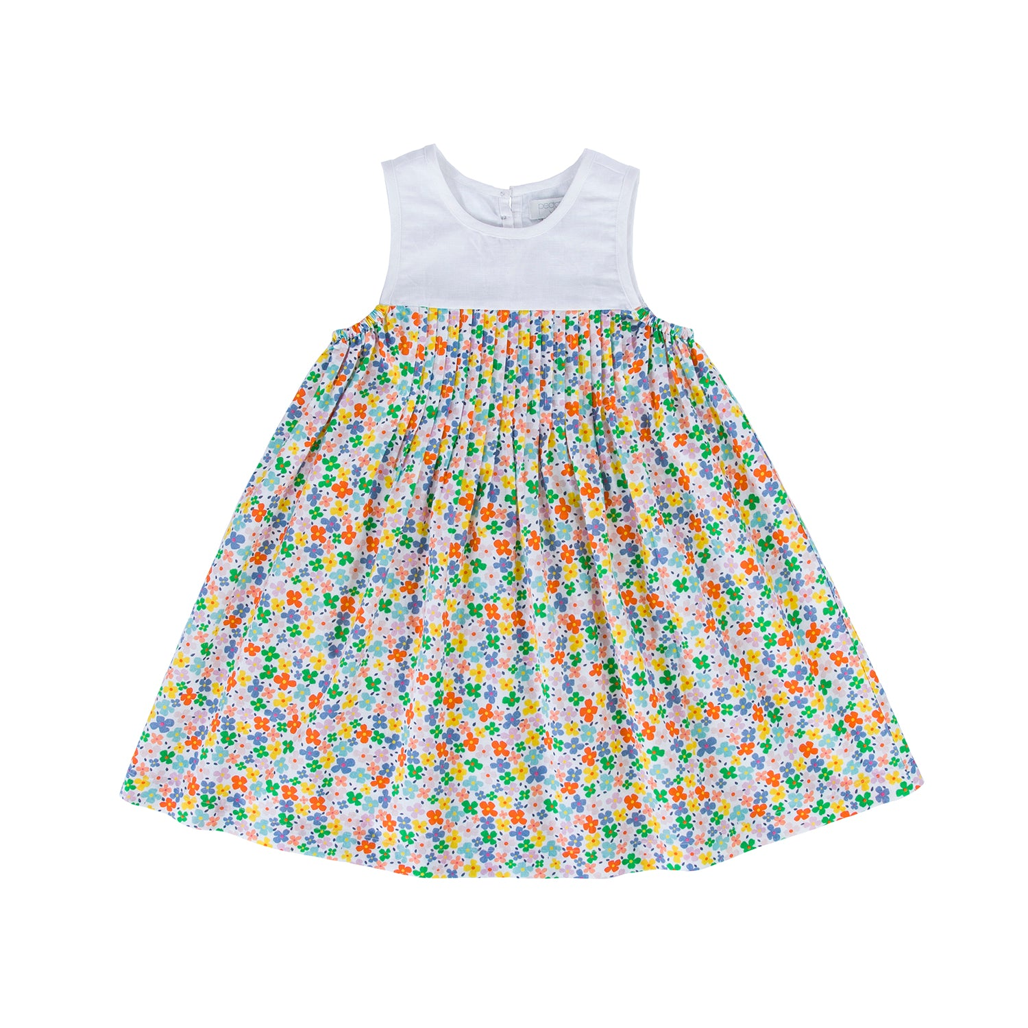 Peggy - Poppie Dress Multi bright coloured floral