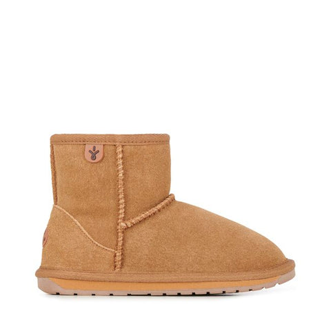 EMU Australia - Wallaby Mini Kids Deluxe Wool Boot (Chesnut)
