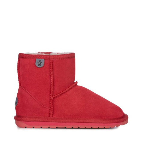EMU Australia - Wallaby Mini Kids Deluxe Wool Boot (Fuschia)