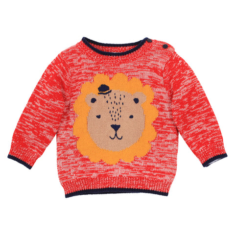Fox&Finch - Big Top Lion Sweater
