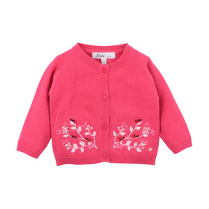 Bebe - Layla Embroidered Cardigan