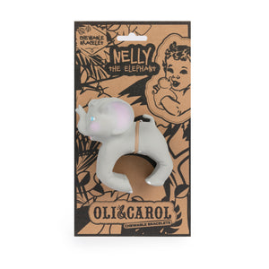 Oli & Carol - Nelly The Elephant Natural Rubber Teether Toy